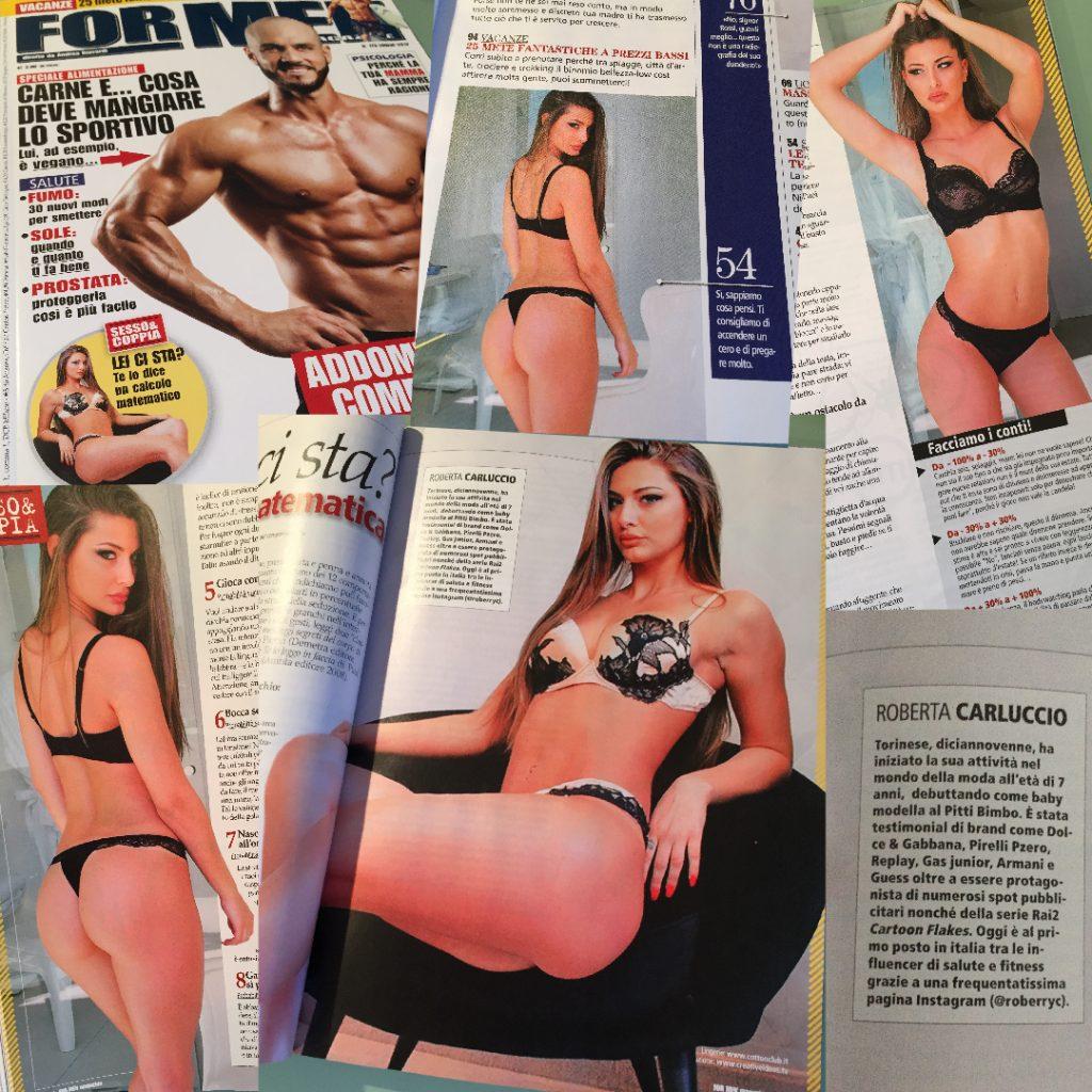 Roberta Carluccio Calendario.Homepage Roberta Carluccio Fitness Model