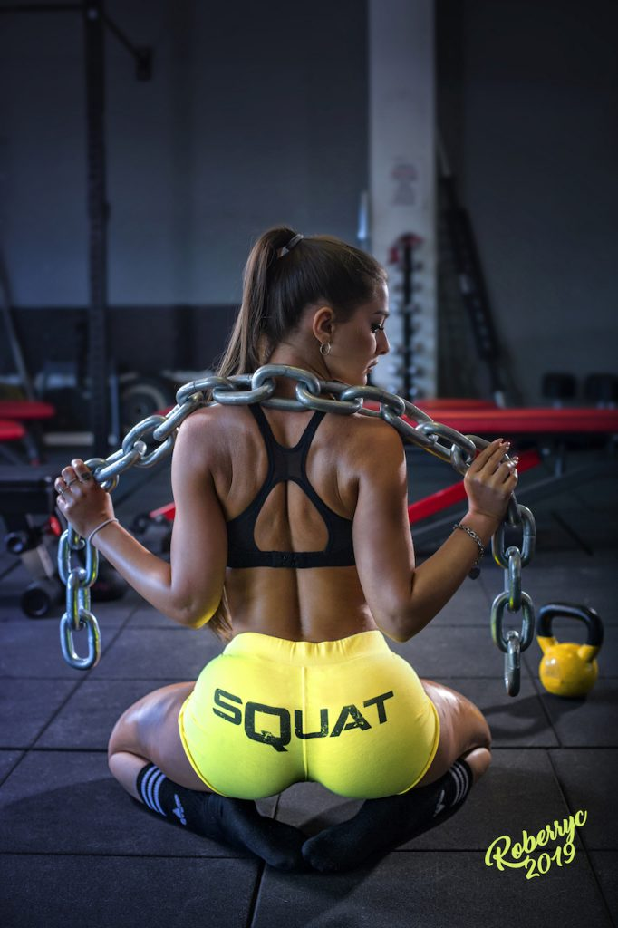 Nuovo Calendario 2019 di Roberta Carluccio Fitness Girl