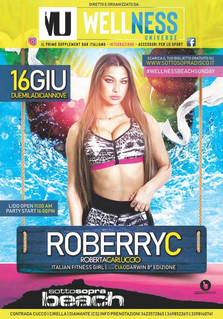 Roberta Carluccio - Roberryc - Wellness Beach Sunday - Contrada Cucco - Cirella -Diamante (CS)